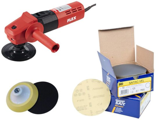concrete polishing kit