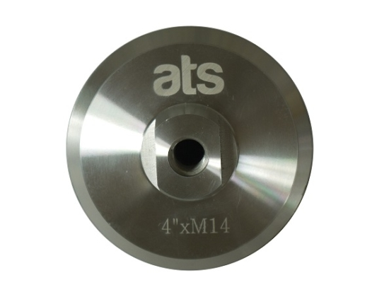polishing aluminium backer pad
