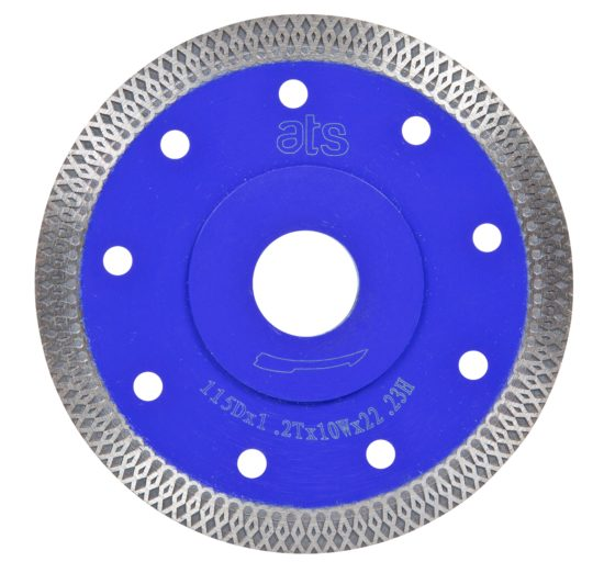 diamond porcelain blade