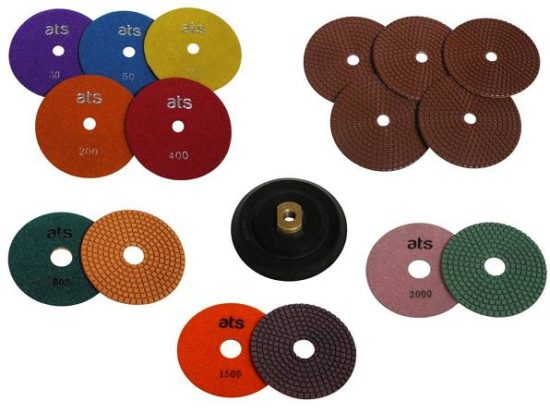 Concrete Worktop Polishing Diamond Disc