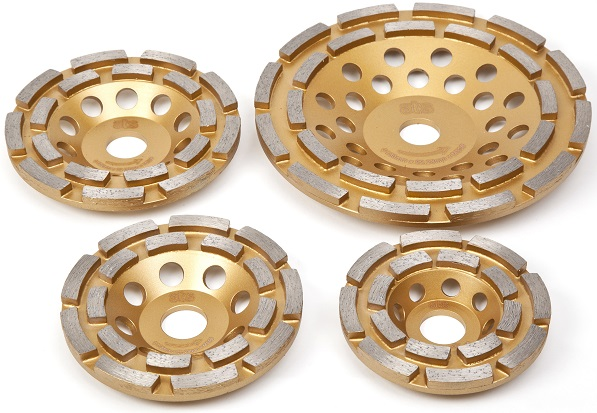 Double Row Grinding Cup Wheels 22.23mm