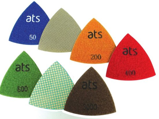 Triangle Polishing pads Wet/Dry