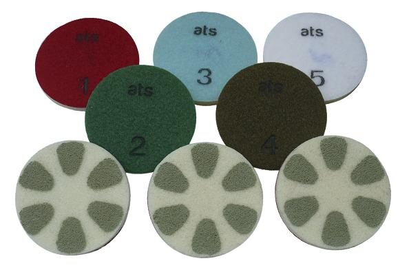 restoration buffing diamond pads
