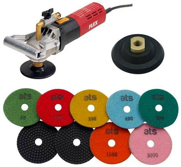 FLEX LW1503 Wet Polisher Starter Set
