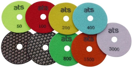 100mm Premium Dry Diamond Polishing Pads