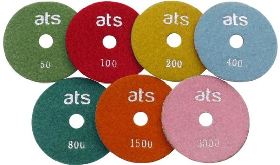 100mm Economy Wet Diamond Polishing Pads