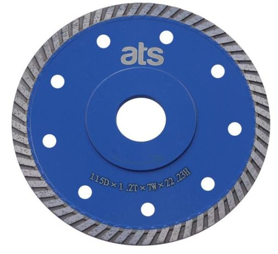 Porcelain & Quartz Thin Turbo Flange Blade