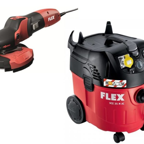 FLEX power tools polisher and wet/dry vacuum