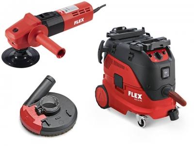 FLEX L1506 VR + VCE 33 M AC Wet/Dry Vacuum Package